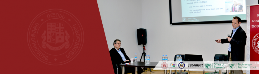 "SEMINAR ""ACADEMIC RESEARCH, ENTREPRENEURSHIP, AND INNOVATION"" HELD BY PROF. JERZY T. SAWICKI, PH.D. AND JACK KRASZEWSKI, ESQ. ON APRIL 24, 2019"