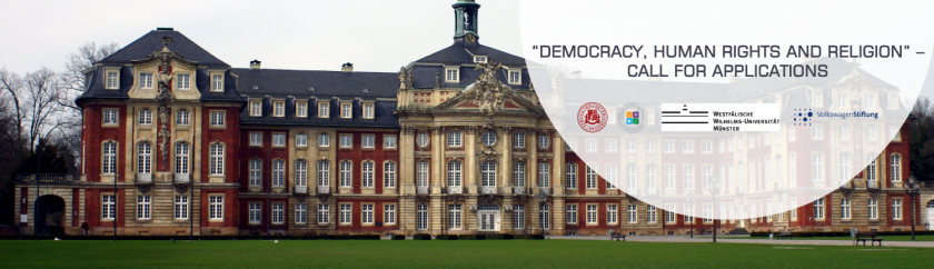 "CALL FOR APPLICATIONS – JOINT PHD PROGRAM ""DEMOCRACY, HUMAN RIGHTS, AND RELIGION"""