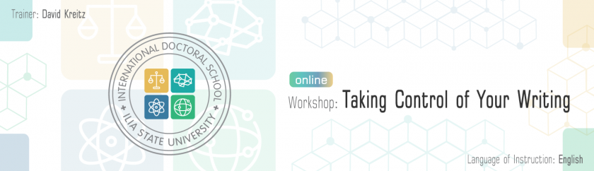 WORKSHOP: TAKING CONTROL OF YOUR WRITING