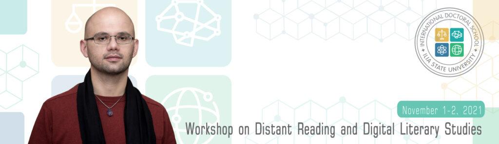 Workshop on Distant Reading and Digital Literary Studies